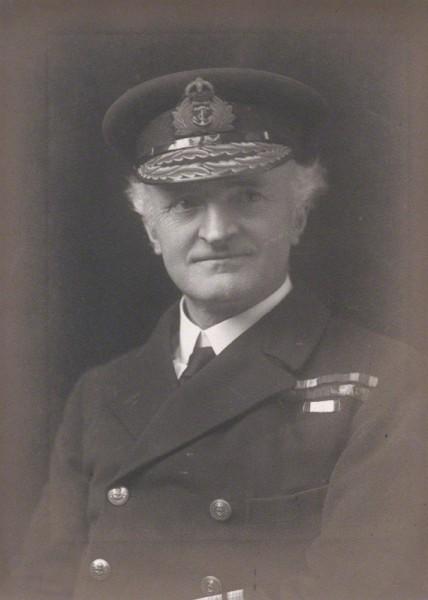 NPG x168073; Sir (William) Reginald Hall by Walter Stoneman