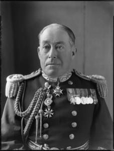 NPG x74723; Sir Dudley Burton Napier North by Bassano