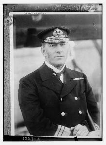 Wilmot Fawkes as Vice-Admiral